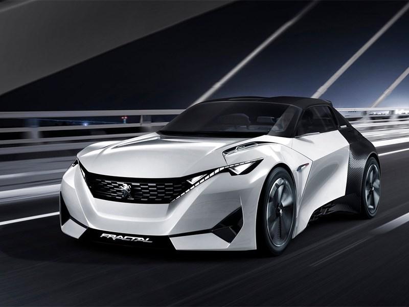 Peugeot Fractal Concept 2015 На заметку меломанам