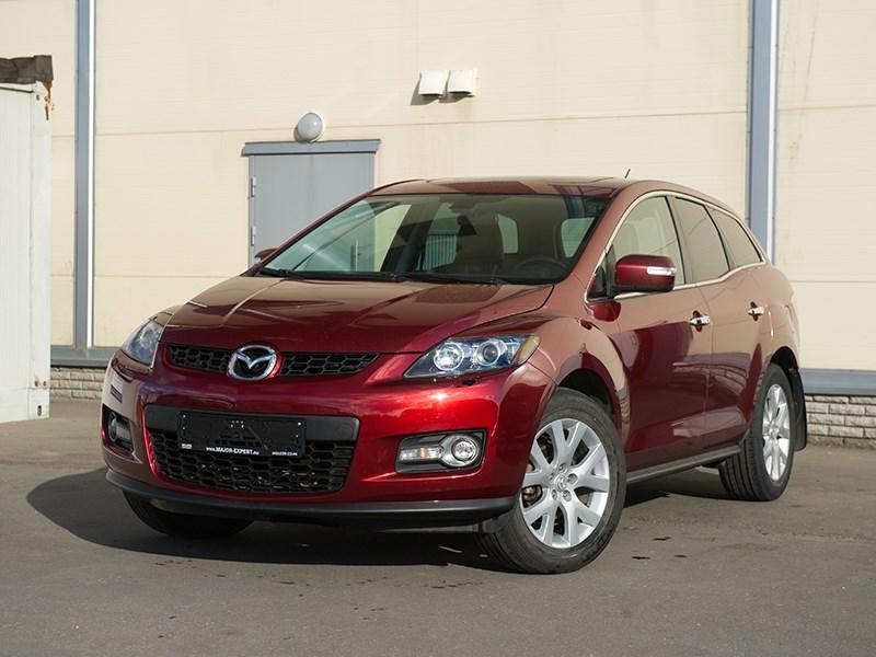 Mazda CX7 2011 Заморский гость