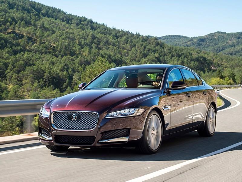 Jaguar XF 2016 И ничего лишнего!