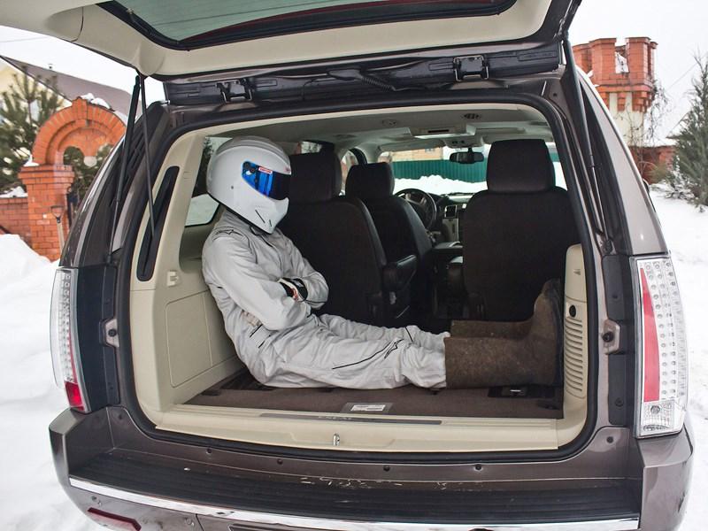 Cadillac Escalade 2009 багажное отделение