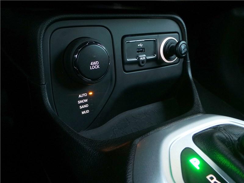 Jeep Renegade 2014 селектор внедорожных режимов