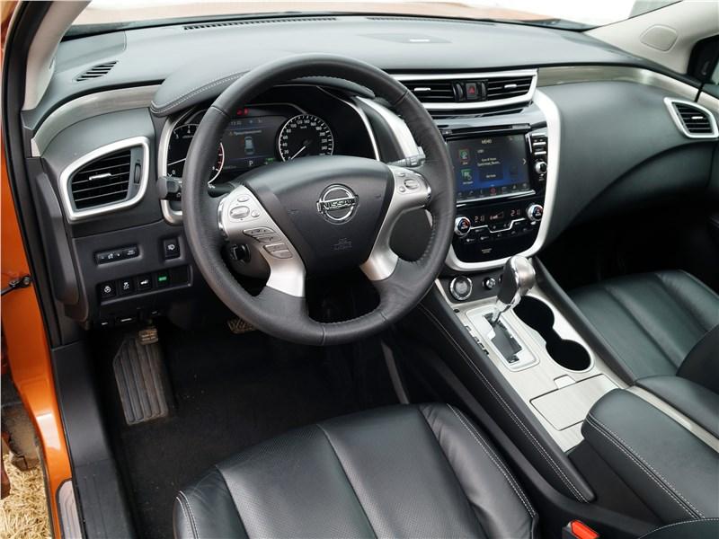 Nissan Murano 2016 интерьер