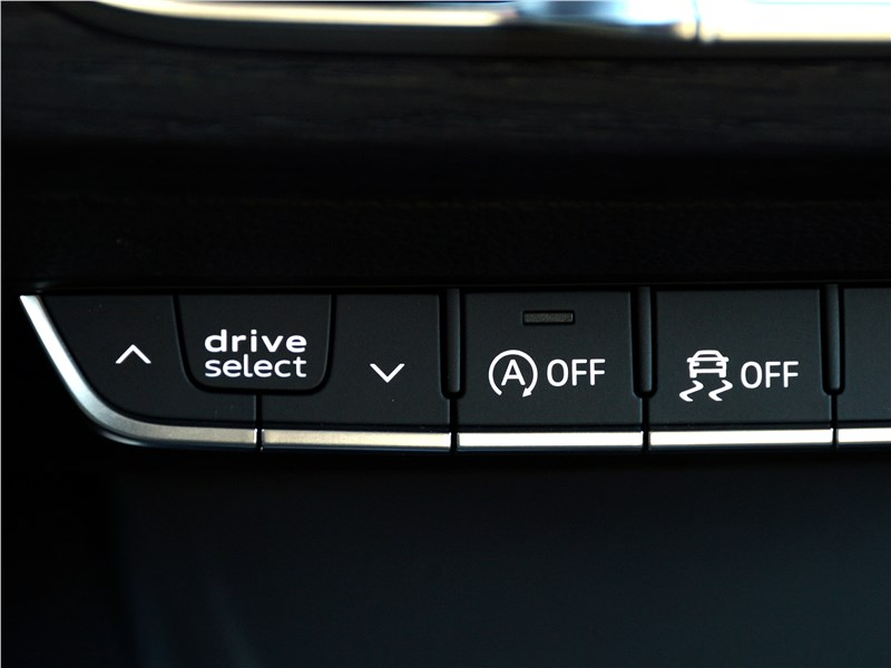 Audi A4 allroad quattro 2016 меню AUDI DRIVE SELECT