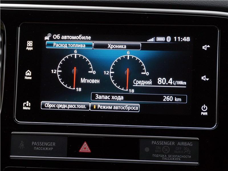 Mitsubishi Outlander 2018 монитор
