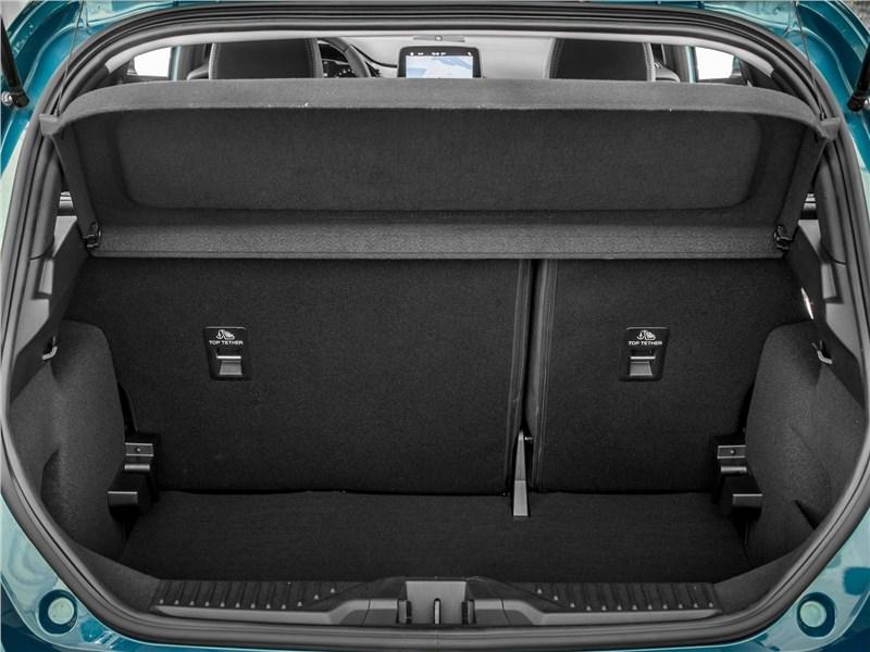 Ford Fiesta 2017 багажное отделение