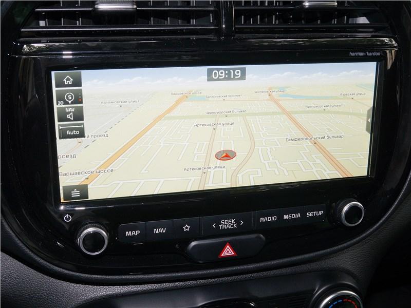 Kia Soul 2020 центральный дисплей
