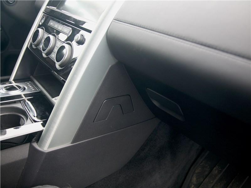 Land Rover Discovery 2017 отделка салона