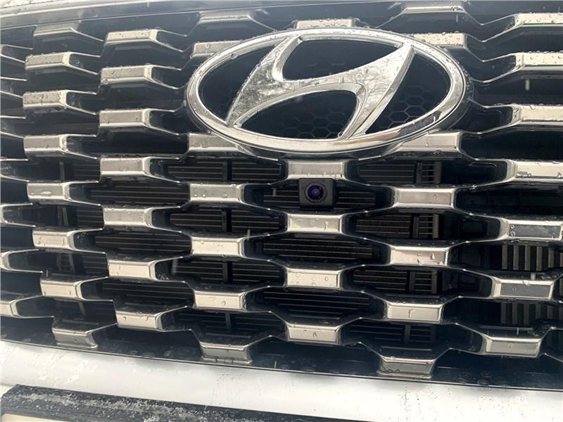 Hyundai Palisade 2020 решетка радиатора