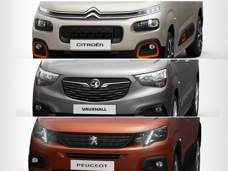 PSA опубликовал первое фото «каблучков» Peugeot, Citroen и Opel