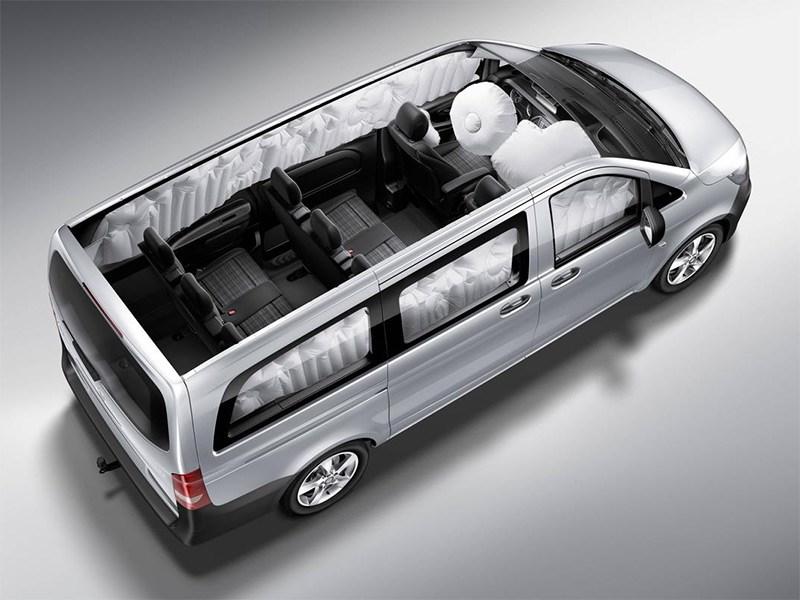 Mercedes-Benz Vito Tourer 2015 подушки безопасности