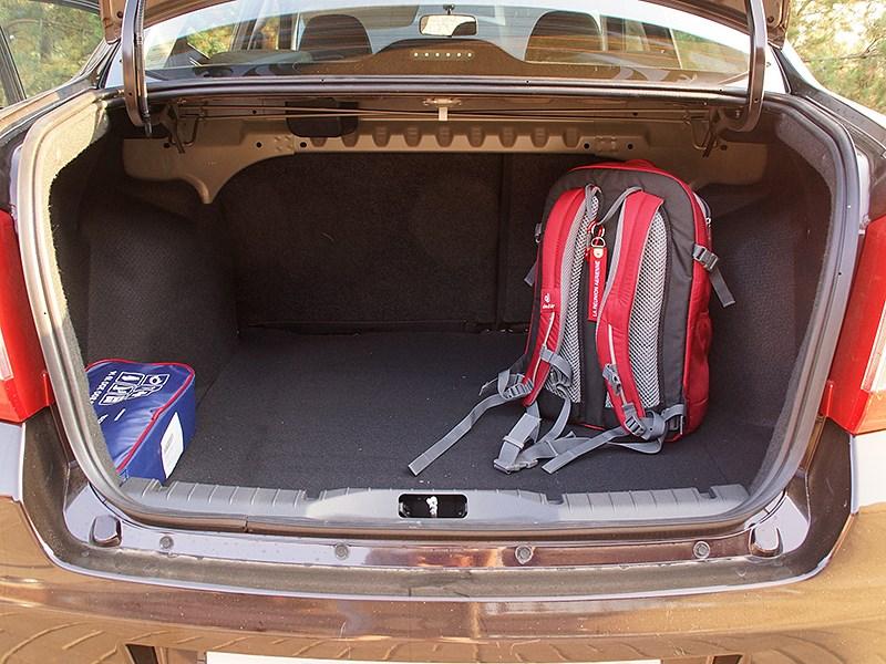 Datsun on-DO 2014 багажное отделение