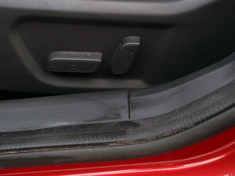 Chery Arrizo 7 2014 регулировки водительского кресла