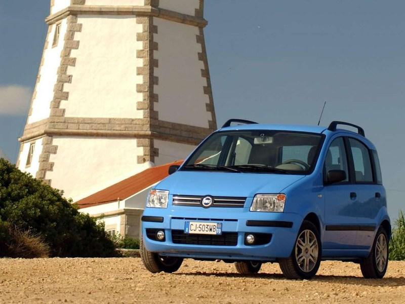 Промежуточное звено (Fiat Panda, Suzuki Ignis, Suzuki Liana, Subaru Impreza) Panda