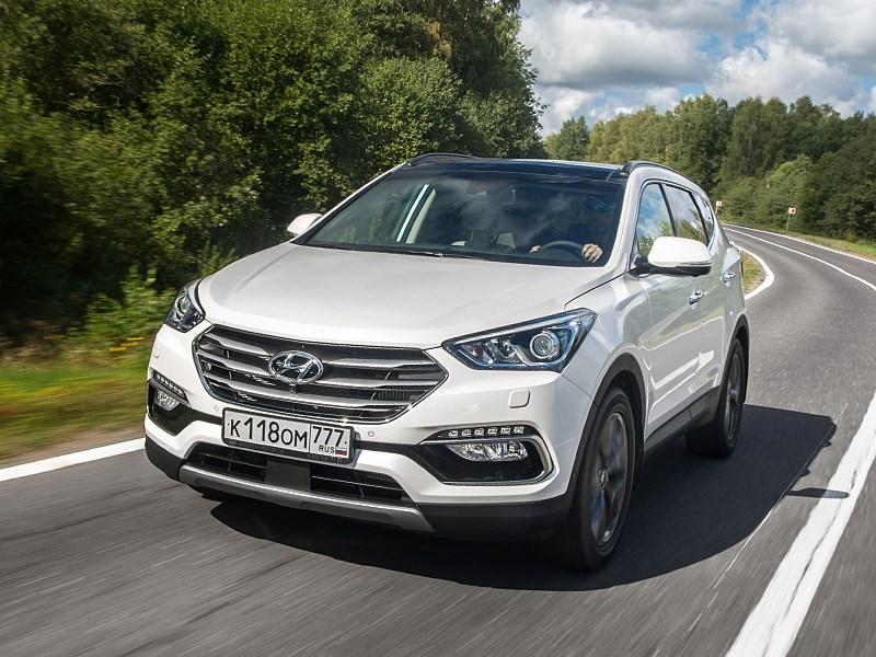 Hyundai Santa Fe - hyundai santa fe 2015 многоликий
