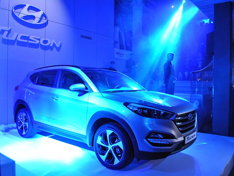 Новый Hyundai Tucson - Hyundai Tucson 2016 Новое поколение HyundaiTucson: «С возвращением!»