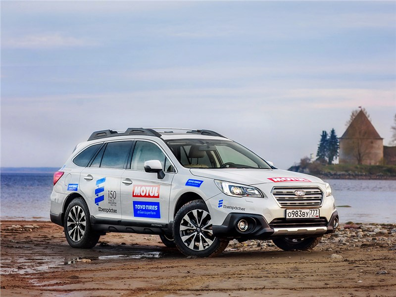Subaru Outback - subaru outback 2015 крепкий орешек