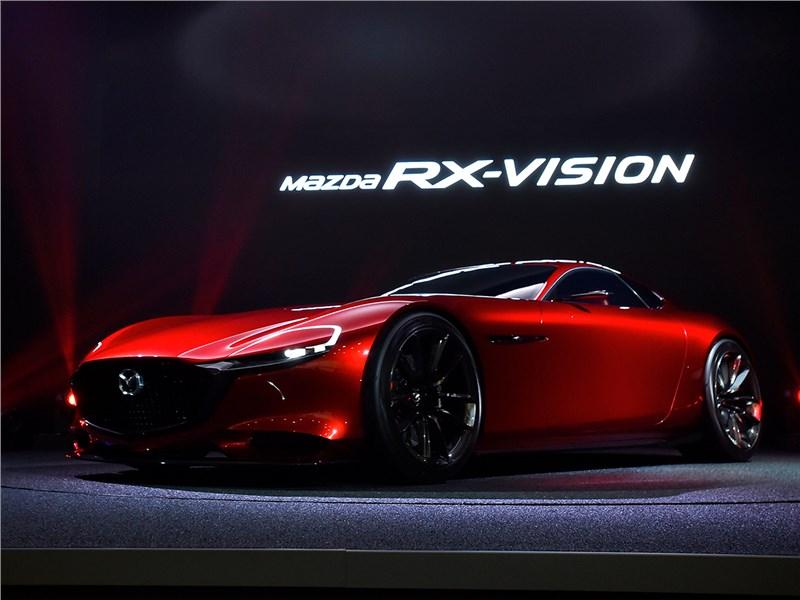 Новый Mazda RX Vision - Mazda RX-Vision Concept 2015 Возвращение ротора