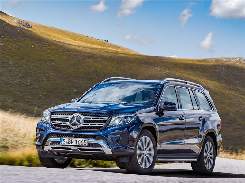 Mercedes-Benz GLS 2016 Величина