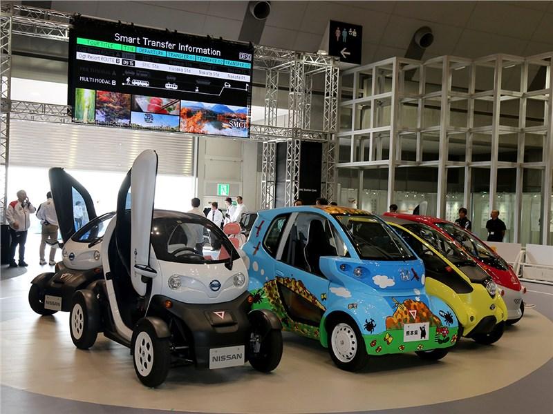 Автосалон в Токио 2015. Не ждали?