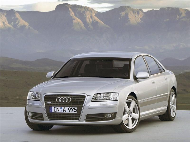 Audi A8 D3 рест.