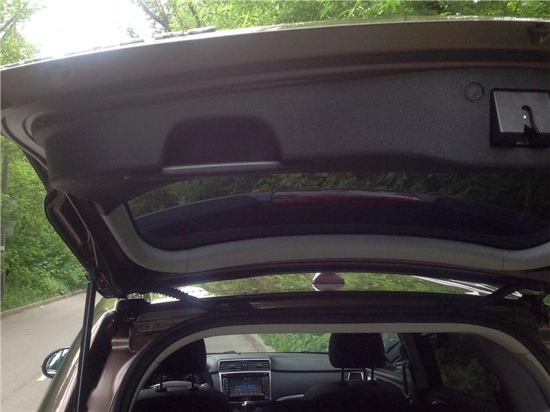 Haval H6 2015 дверь багажника