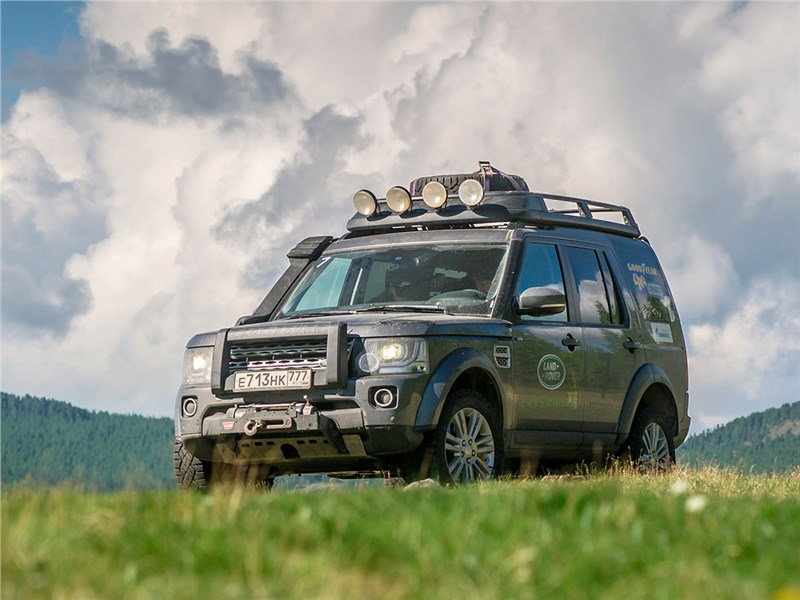 Land Rover Discovery - land rover discovery 4 2015 золото великой степи