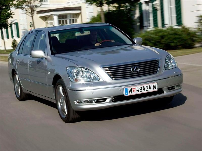 Lexus LS III рест.