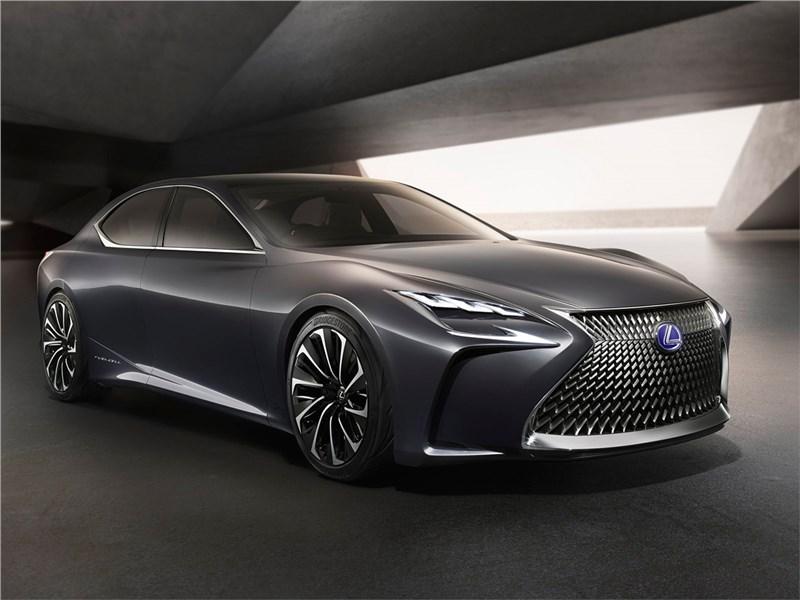 Новый Lexus LF-FC - Lexus LF-FC 2015 Большое веретено