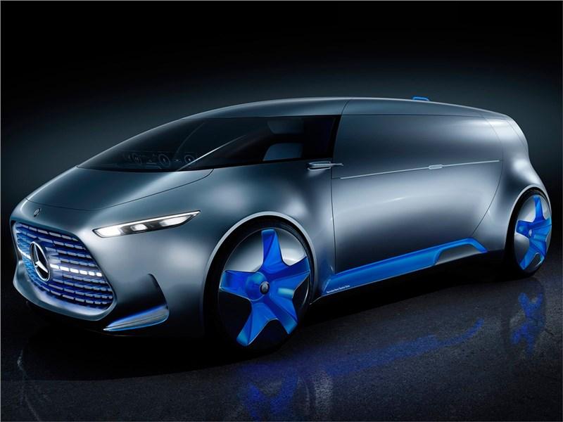 Mercedes-Benz Vision Tokyo Concept 2015 Диван на колесах