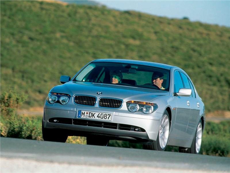 Немецкий триумвират (Audi A8, BMW 7-Series, Mercedes-Benz S-Klasse) 7 series поколение E65_E66