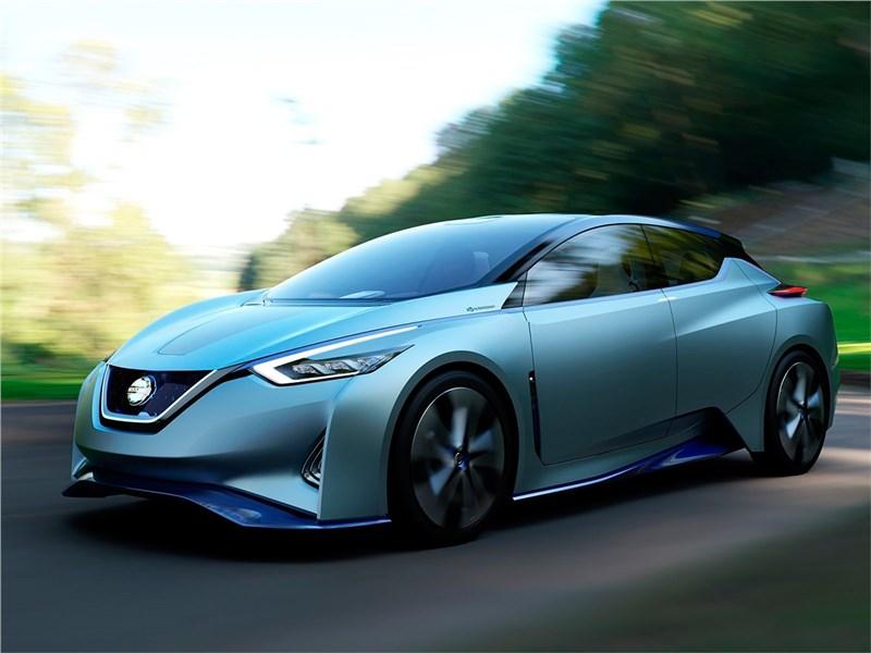 Nissan IDS concept 2015 В полет