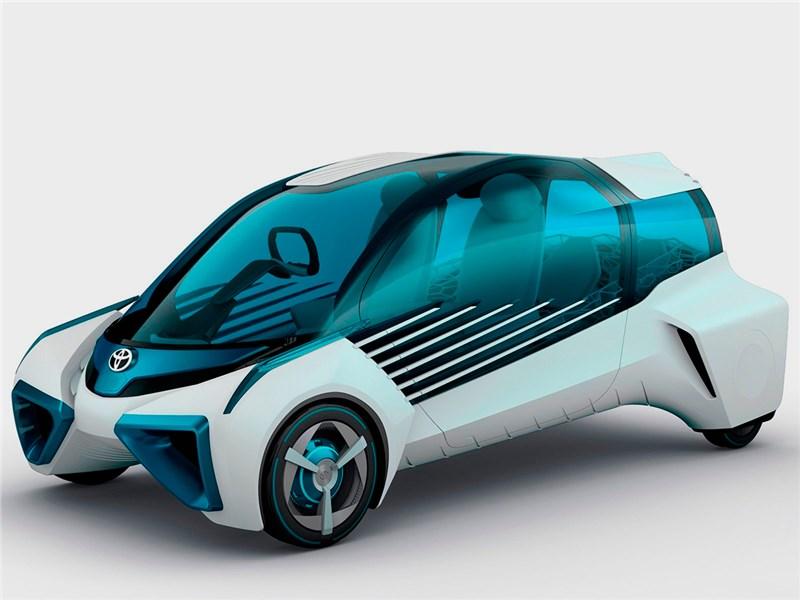 Toyota FCV Plus concept 2015 Напечатали