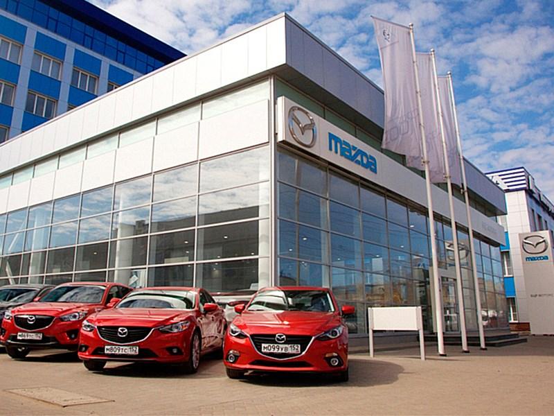 Продажи Mazda в России «просели» на 41 процент