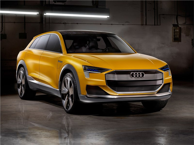 Новый Audi h-Tron quattro - Audi h-tron quattro Concept 2016 Глоток водорода