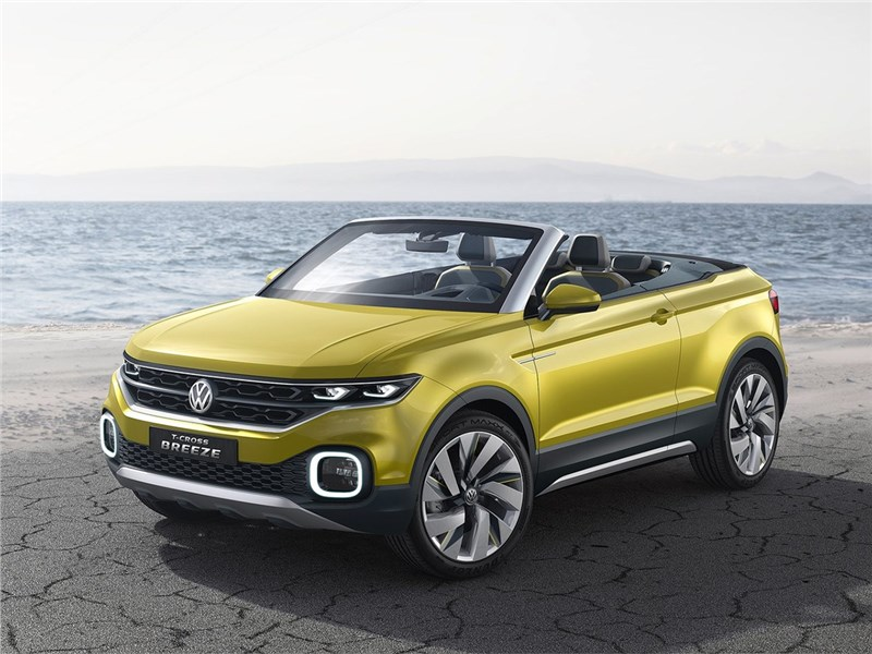Volkswagen T-Cross Breeze Concept 2016 Ветер перемен