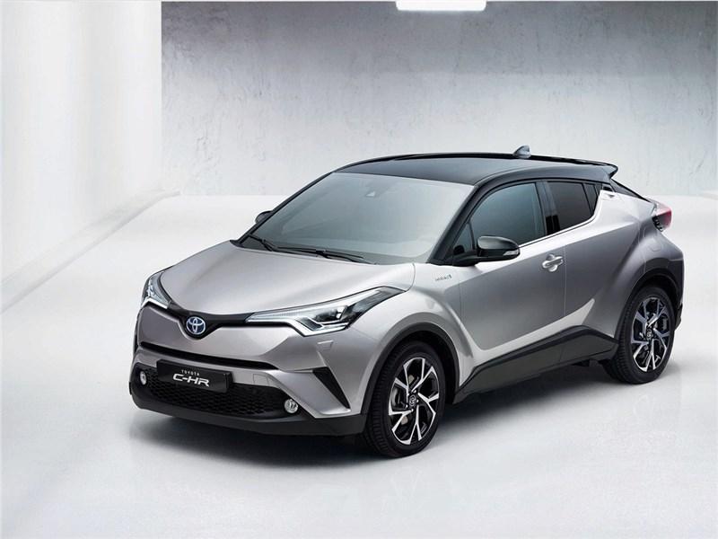 Новый Toyota C-HR - Toyota C-HR 2016 вид спереди сбоку