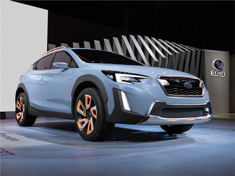 Subaru XV concept 2016 Знаки отличия