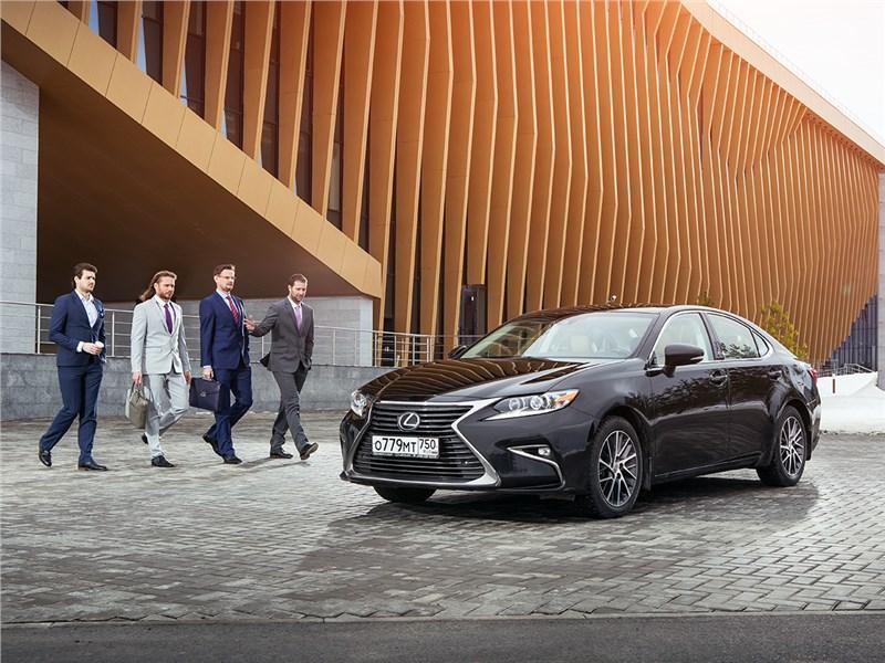 Lexus ES - lexus es 2016 время открытий