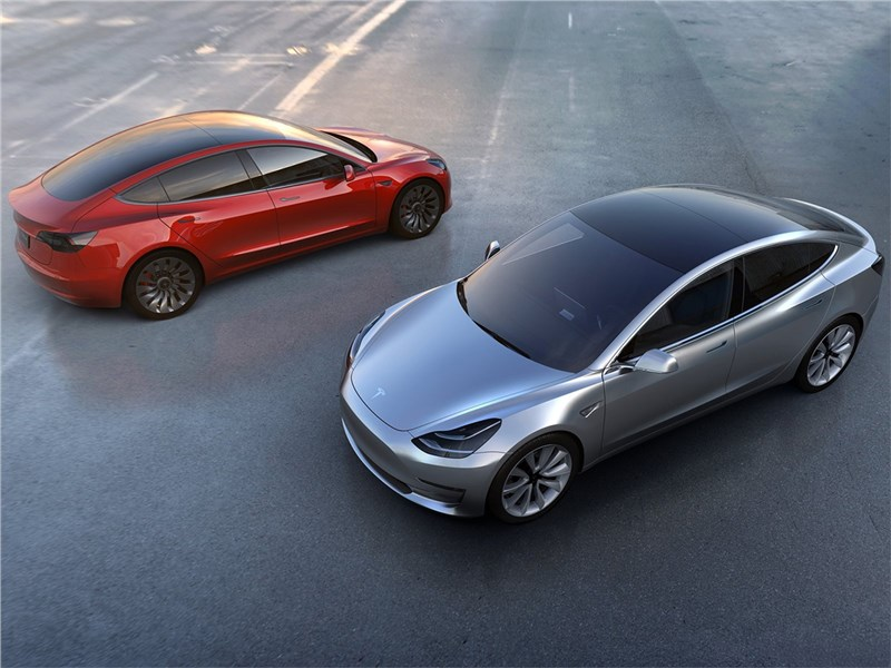 Tesla Model 3 concept 2016 Ода электричеству