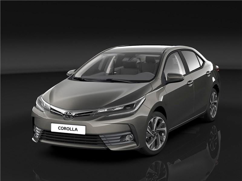 Toyota Corolla 2017 Взгляд с прищуром