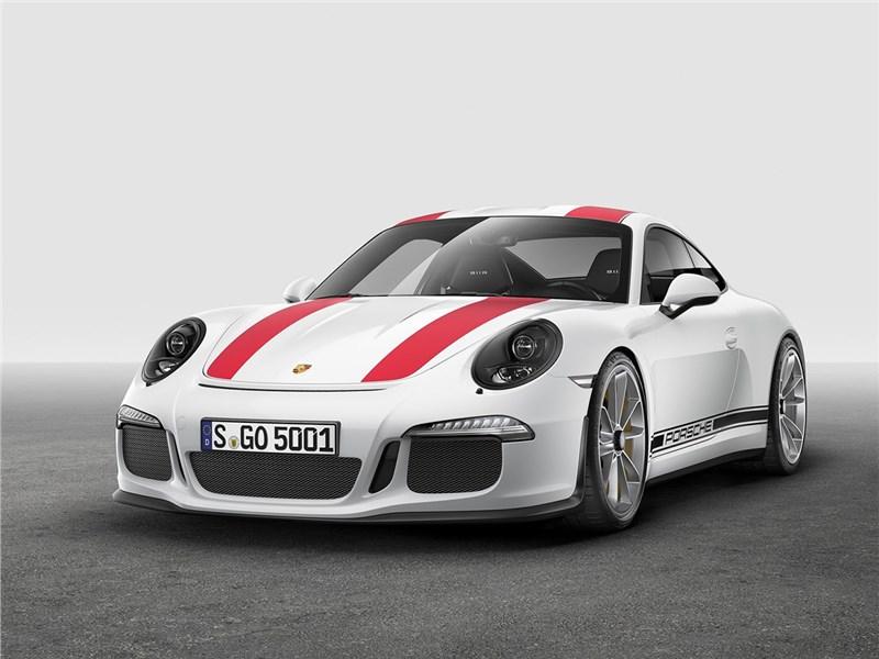 Новый Porsche 911 R - Porsche 911 R 2017 Легкой поступью