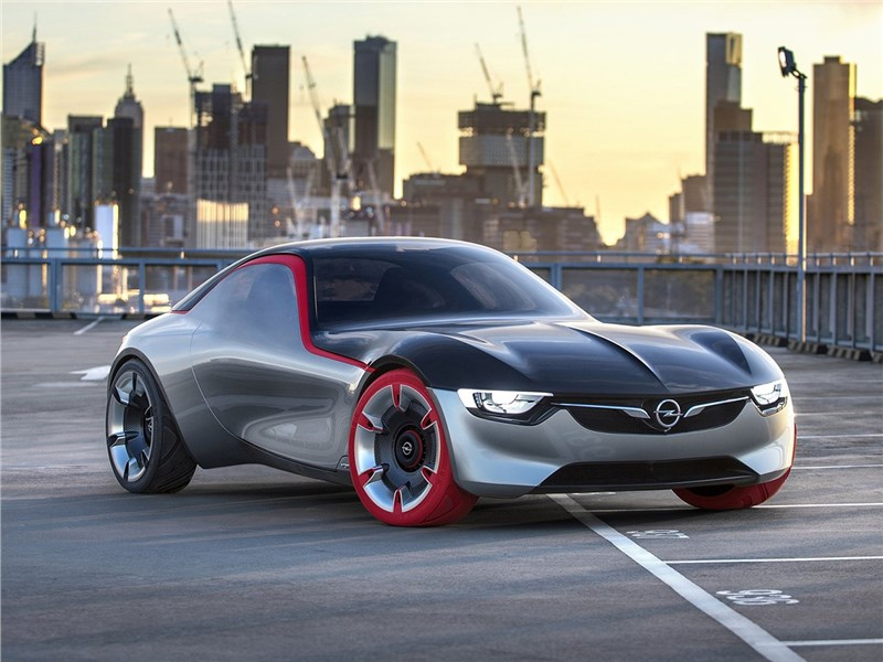 Opel GT concept 2016 Неоретро