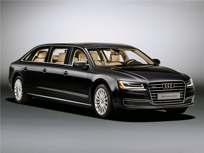 Audi A8 L Extended 2016 И шесть дверей…