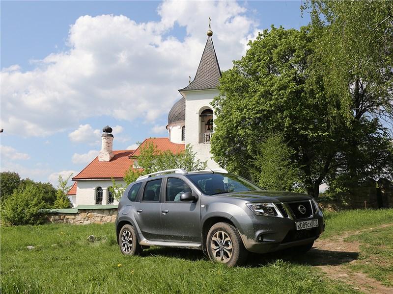 Nissan Terrano - nissan terrano 2016 дом на горе
