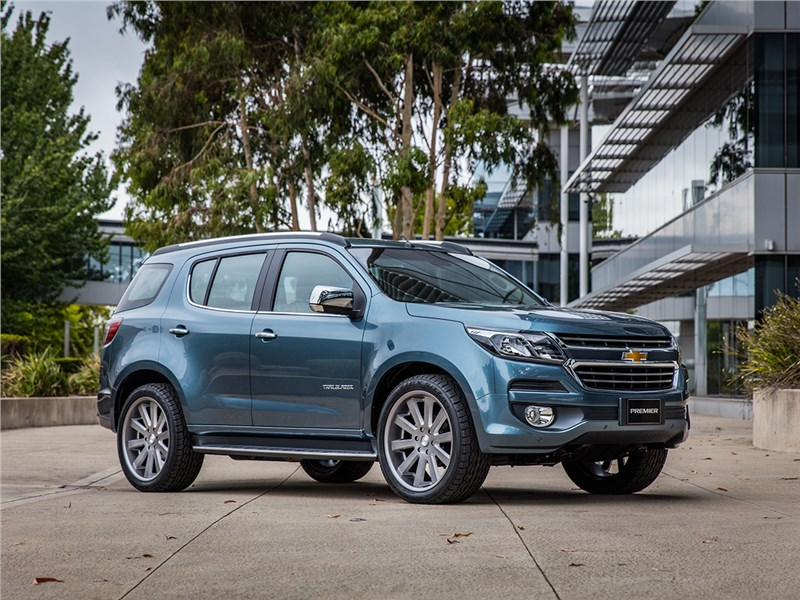Chevrolet Trailblazer 2016 Борьба за статус