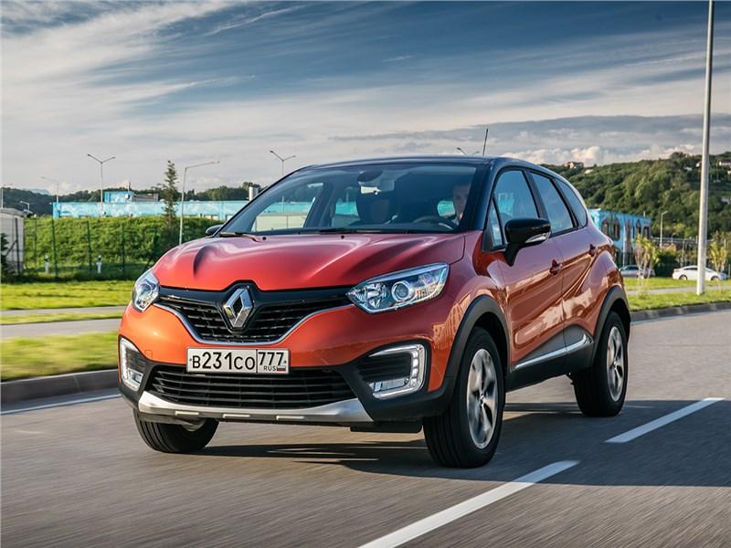 Renault Kaptur 2016 Родственные связи