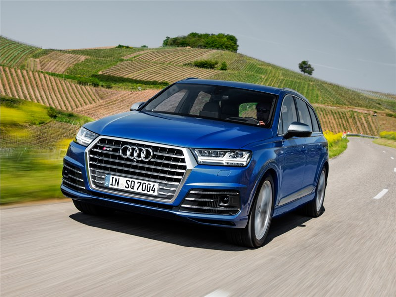 Audi SQ7 TDI 2017 Умный и быстрый