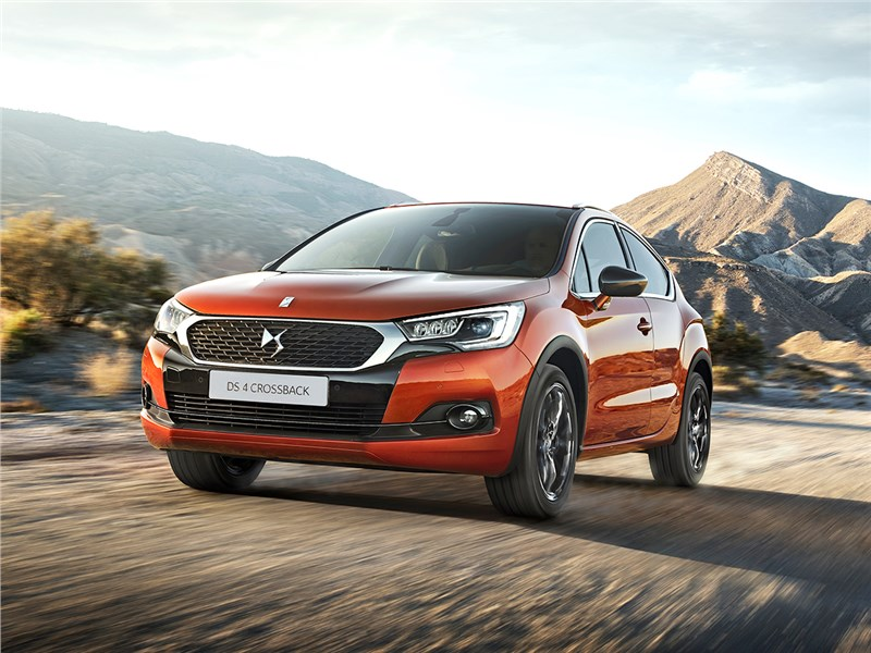 DS 4 Crossback - ds4 crossback 2016 тайна имени