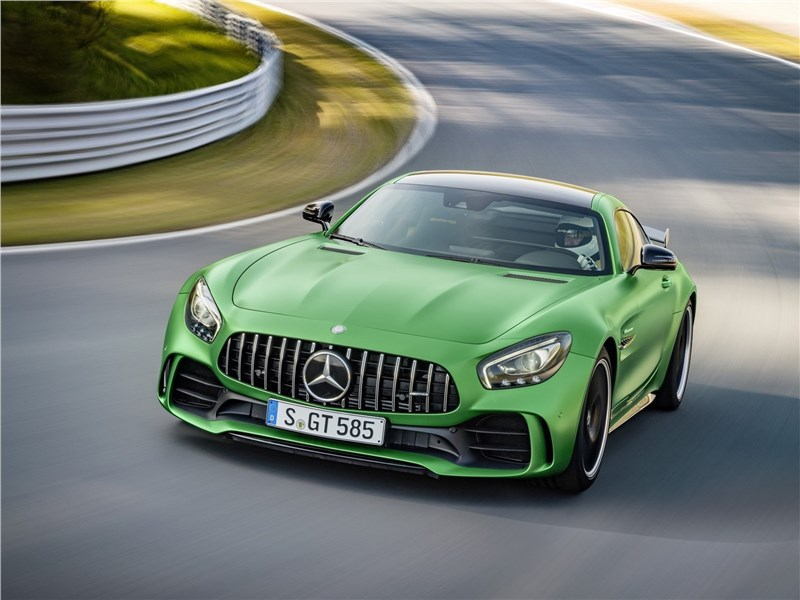 Mercedes-AMG GT R 2017 Зеленый агрессор