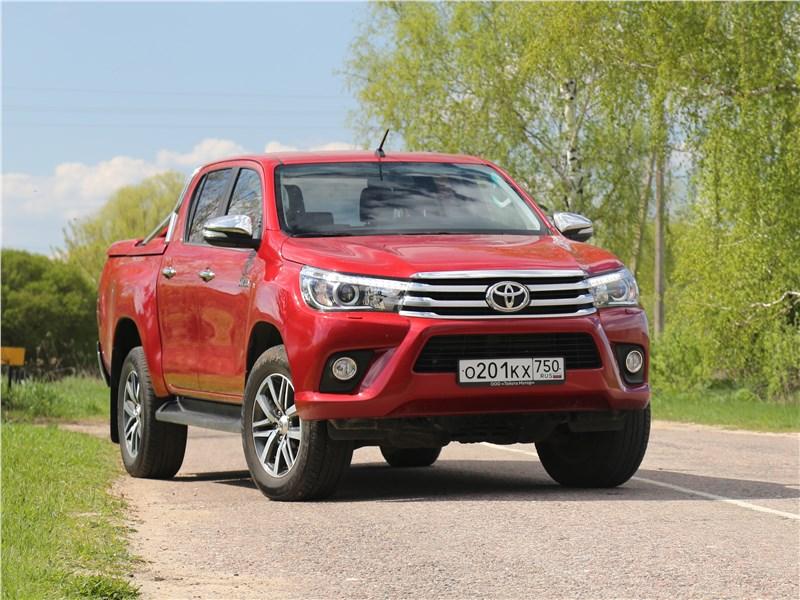 Toyota HiLux 2016 Запас прочности